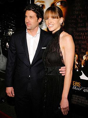 Patrick Dempsey y Hilary Swank