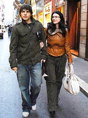 Laura Pausini y su novio