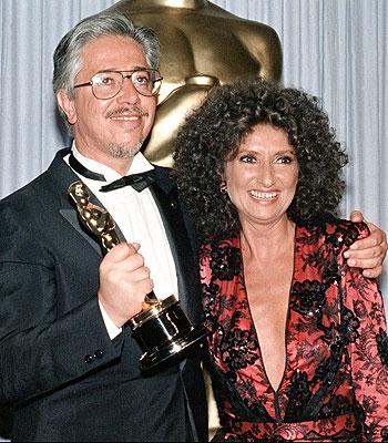 Luis Puenzo y Norma Leandro
