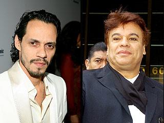Marc Anthony y Juan Gabriel.
