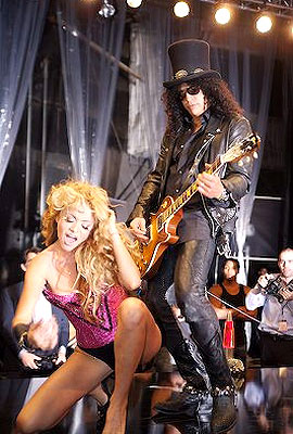 Paulina Rubio y Slash