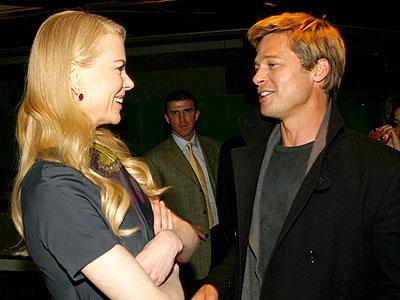 Nicole Kidman y Brad Pitt