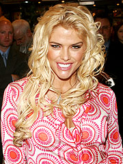 Anna Nicole Smith en abril del 2005.
