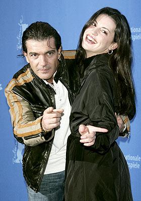 Antonio Banderas y María Ruiz en Berlín.