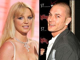 Britney Spears y Kevin Federline.
