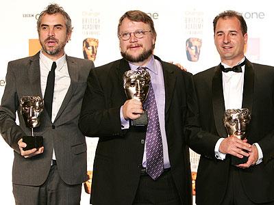 Alfonso Cuaron y Guillermo del Toro