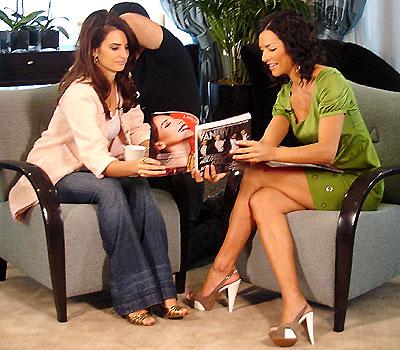 Penelope Cruz y Candela Ferro