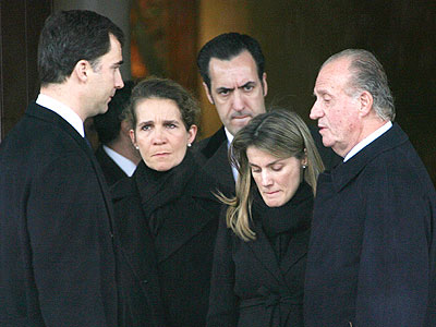 Principe Felipe, Duques de Lugo, Princesa Letizia y Rey Juan Carlos I
