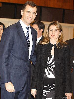Felipe de Borbon y Princesa de Asturias