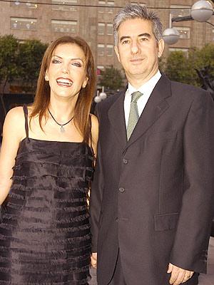Laura Flores y José Ramón Diez