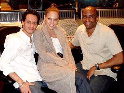 Marc Anthony, Jennifer Lopez y Anthony George
