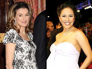 Princesa Letizia y Karla Martínez
