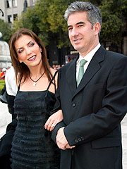 Laura Flores y José Ramón Diez.
