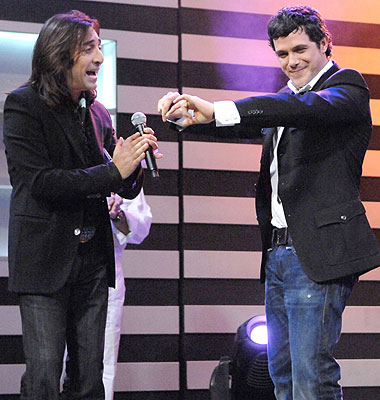 El Cigala y Alejandro Sanz