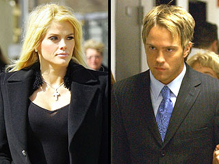 Anna Nicole Smith y Larry Birkhead.