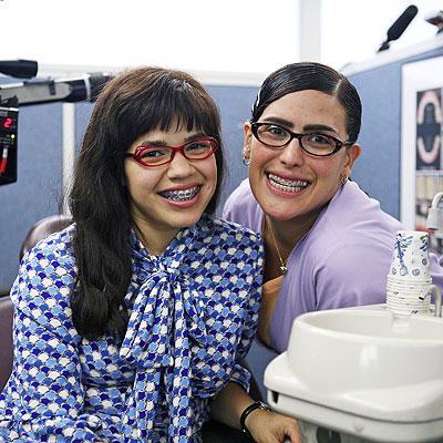 America Ferrera and Angelica Vale