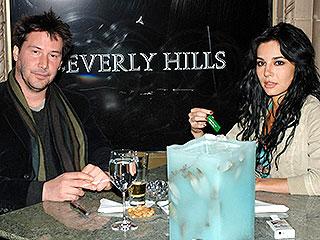 Keanu Reeves y Martha Higareda