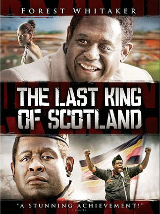 DVD - THE LAST KING OF SCOTLAND