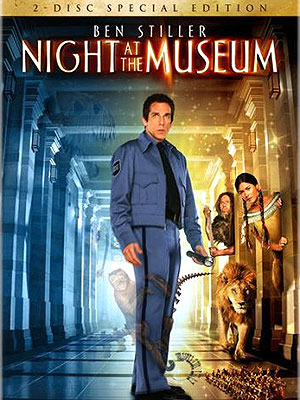 A NIGHT AT THE MUSEUM - DVD