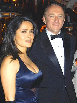 Salma Hayek y François Henri-Pinault