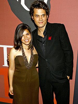 America Ferrera y John Mayer main image