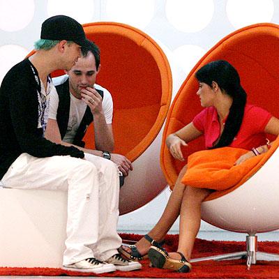 Cristian y Mayte de RBD