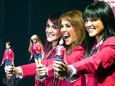 Dulce Maria, Anahí y Mayte de RBD