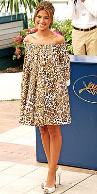 Eva Mendes look del día