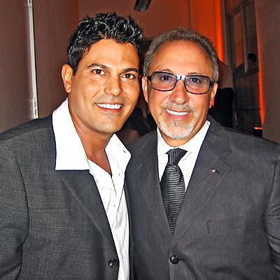 Francisco Gattorno y Emilio Estefan