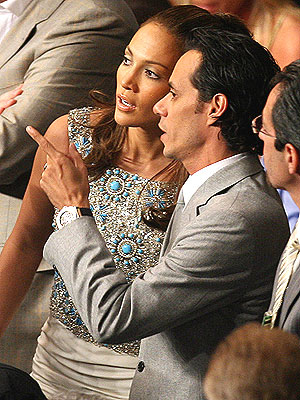 Jennifer Lopez and Marc Anthony