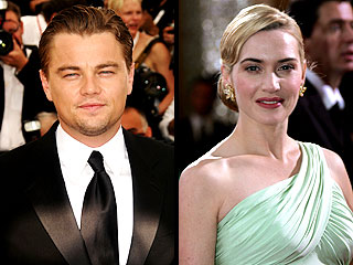 Leonardo Di Caprio and Kate Winslet