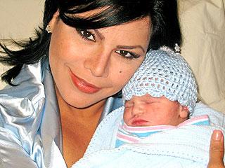 Olga Tañón y Ian Nair