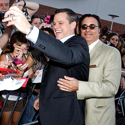 Andy Garcia y Matt Damon