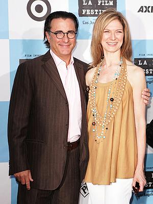 Andy Garcia y Dawn Hudson