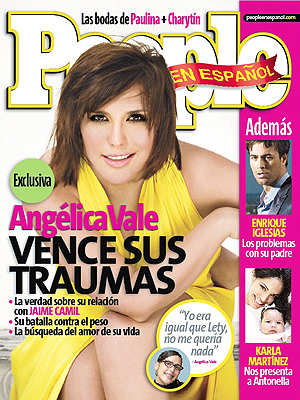 Angelica Vale julio 2007 cover