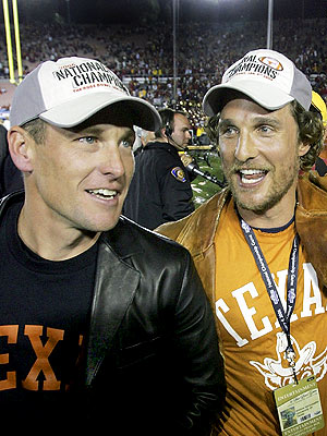 Lance Armstrong & Matthew McConaughey