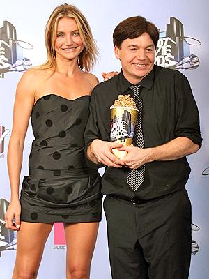 Cameron Diaz y Mike Myers