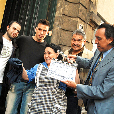 Carmen Salinas, Joaquin Cossio y Luis Felipe Tovar