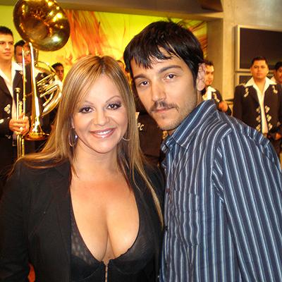 Diego Luna y Jenni Rivera