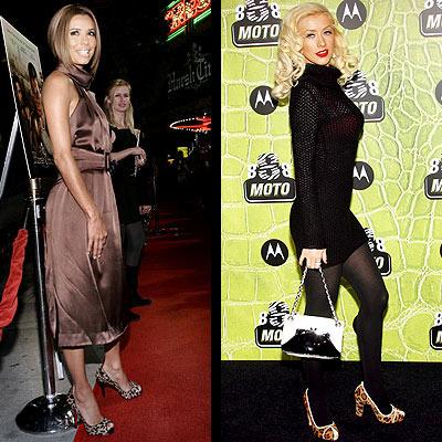 Eva Longoria & Christina Aguilera