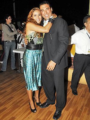 Galilea Montijo y Eduardo Yañez