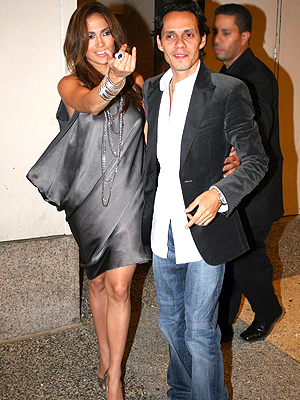 principal Jennifer Lopez y Marc Anthony
