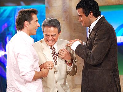 Juan Soler y Jaime Camil