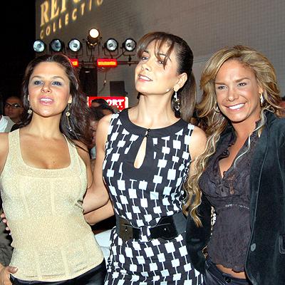 Monika Sanchez, Paty Manterola y Liz Vega