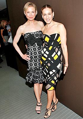 Sarah Jessica Parker y Renee Zellweger
