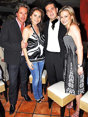Elizabeth Alvarez con Victor Noriega