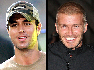 Enrique Iglesias & David Beckham