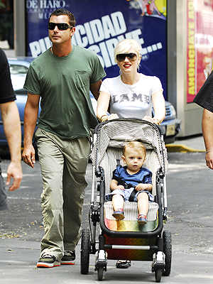 Gwen Stefani con familia