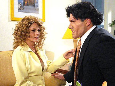 Roxana Castellanos y Arath de la Torre