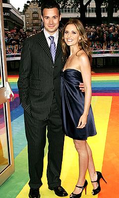 Sarah Michelle Gellar y Freddie Prinze Jr